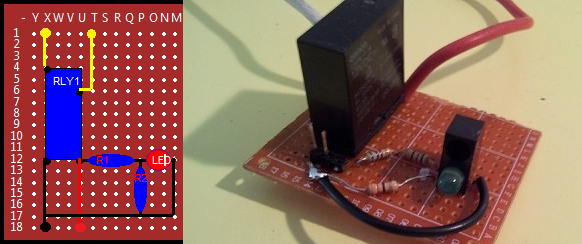 A prototype relay board from the AAIMI Project