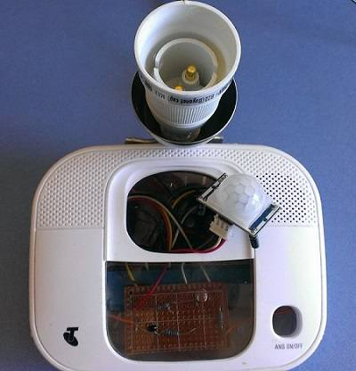 A prototype wireless home-automation satellite from the AAIMI Project. Picture: Anthony Hartup